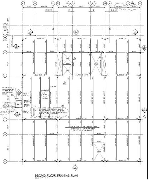 2nd floor framing plan structuralsystem ae390final