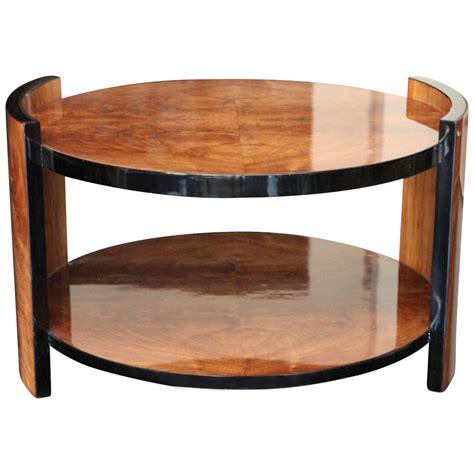 art deco walnut burl side table at 1stdibs