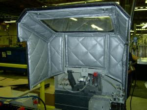 acousti curtain oem enclosures by ies2000