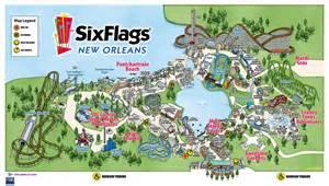 map of six flags six flag maps