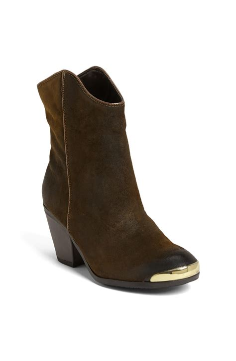 fergie chambers boot in green olive lyst
