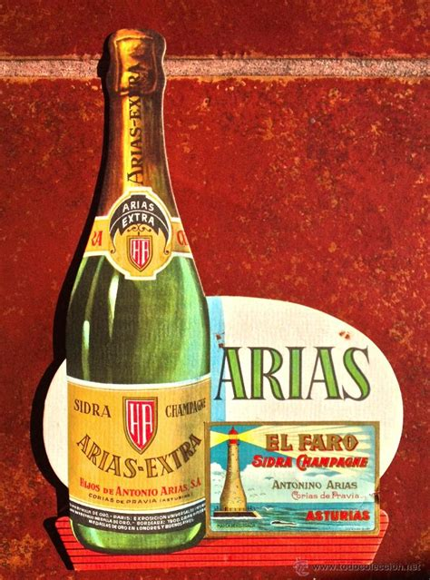 corias de pravia cartel publicidad display troquelado sidra comprar