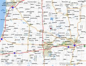 Map Of Southwest Michigan by South West Michigan Map