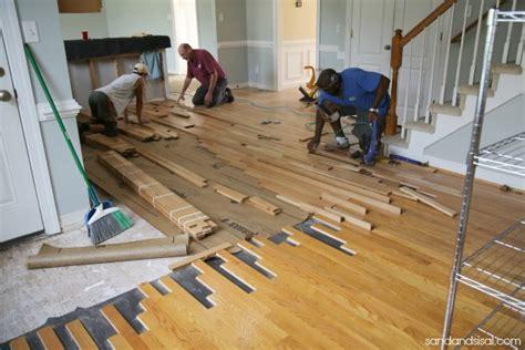 preparing for hardwood floor installation meze blog