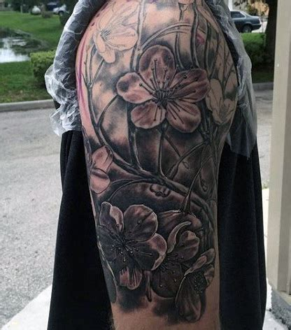 plant tattoos for men 50 flower tattoos for a bloom of manly design ideas