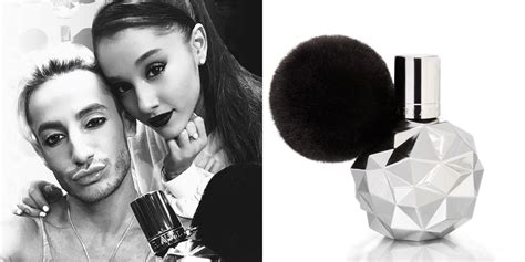 fragrance by ariana grande frankie ariana grande launches new gender neutral fragrance named