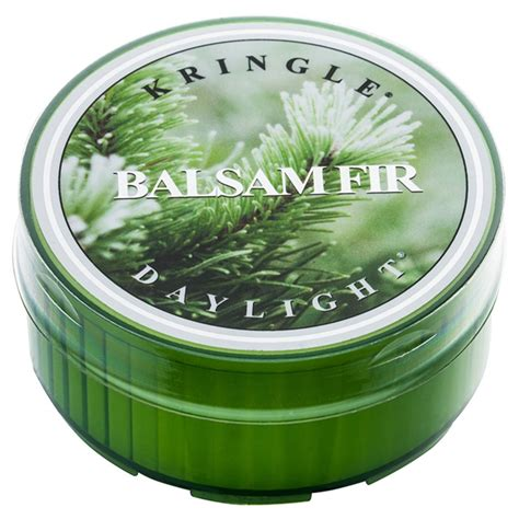 candele scaldavivande kringle candle balsam fir candela scaldavivande 35 g