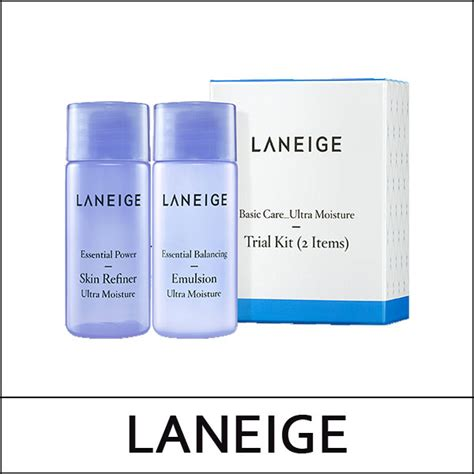 Laneige Basic Care Light Trial Kit laneige sle basic care trial kit ultra moisture