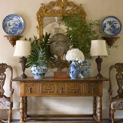 blue and white decor serenity in design cotwolds elegance