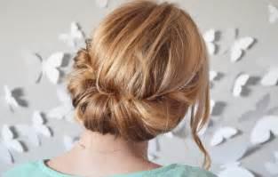 Chignon Pour Cheveux Mi Long