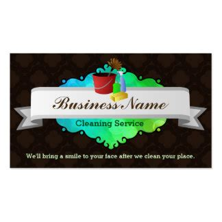house cleaning company house cleaning business cards templates zazzle