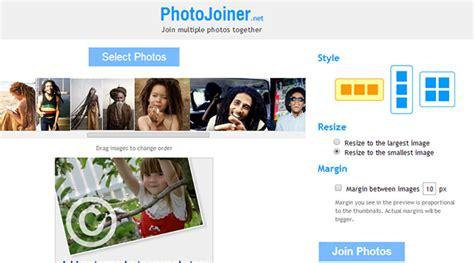 unir varias imagenes online photojoiner herramienta online para unir im 225 genes