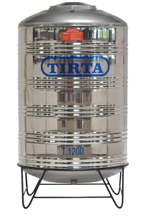 Tangki Air Stainless Steel Tirta T 1000 Water Tank Tandon Toren Air tangki air stainless steel