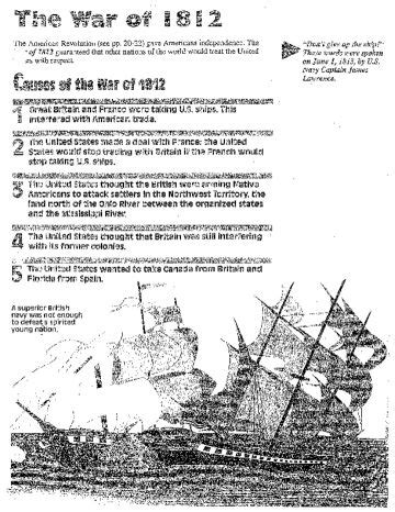 Causes Of War Of 1812 Essay by 14 Best War Of 1812 Images On American History Us History And War Of 1812
