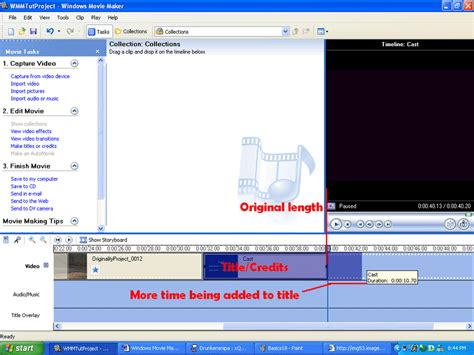 windows movie maker credits tutorial windows movie maker basic tutorial