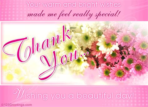 Thank You For The Birthday Card International Women S Day Thank You Cards Free