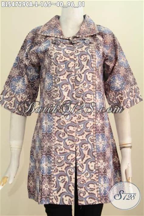 desain baju batik muslim elegan baju batik elegan desain formal cocok untuk seragam kerja