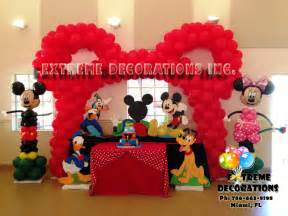 mickey mouse decorations decorations miami balloon sculptures