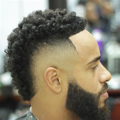 grow out mohawk guys 9 types of curly hairstyles for men trending right now