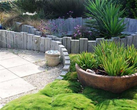 rustic semi circle garden design ideas renovations photos