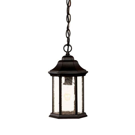Outdoor Pendant Lighting Shop Acclaim Lighting 12 In Matte Black Outdoor Pendant Light At Lowes