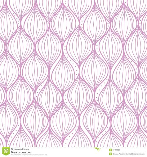 hand drawn pattern background purple ogee stripes seamless pattern background stock