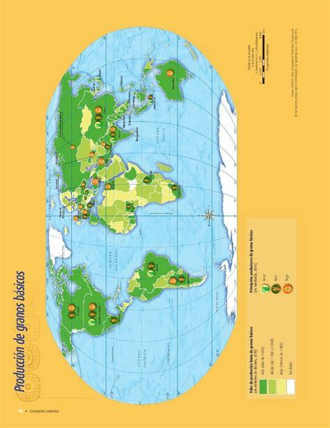 atlas del mundo 2016 2017 espacios agr 237 colas ganaderos pesqueros forestales y