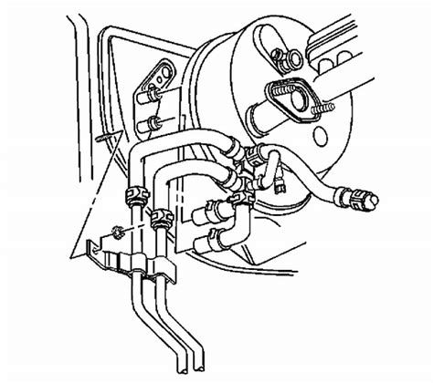 coolant hose diagram on a 2002 oldsmobile silhouette service manual how to replace thermostat 2002 oldsmobile