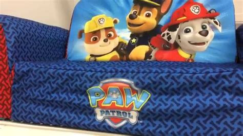 paw patrol sofa bed paw patrol bed backpack sofa furniture