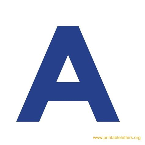 printable alphabet letters in blue printable bold letters printable alphabet letters