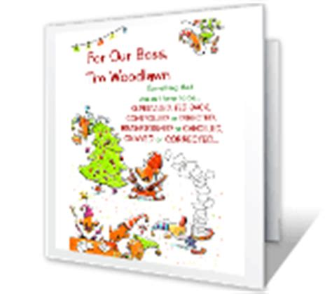 printable christmas cards for your boss workplace christmas cards print free at blue mountain