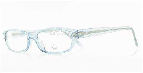 soho 58 eyeglasses clear plastic blue frames wholesale