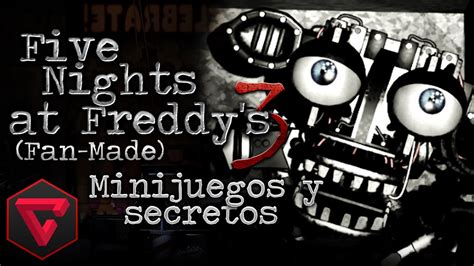 five nights at freddy s fan made games five nights at freddy s 3 161 nuevo animatr 211 nico