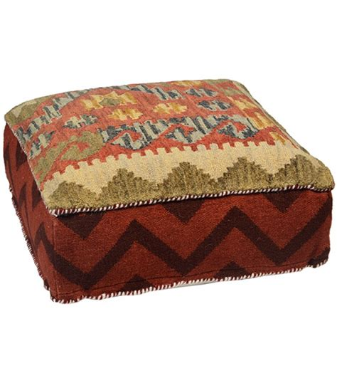 southwestern chairs and ottomans southwestern style square pouf ottoman