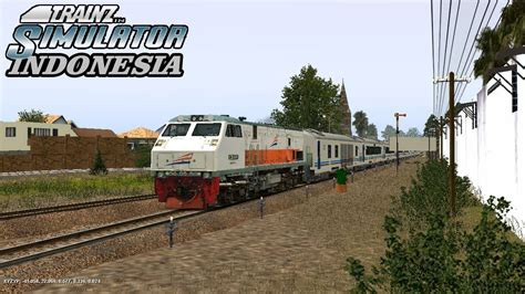 indonesia ditarik trainz simulator indonesia ka gajayana ditarik cc 203