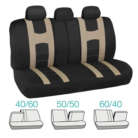 vinyl automotive seat covers complete set car seat covers and 2 tone vinyl mats black
