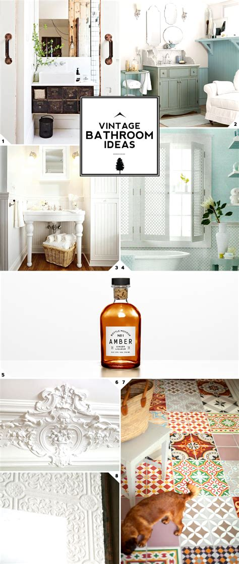 vintage bathroom decor vintage bathroom decor ideas home tree atlas