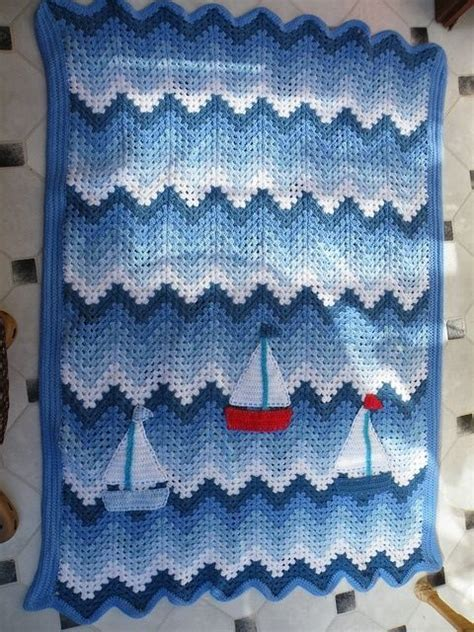 nautical blanket knitting pattern baby afghans nautical baby and afghans on