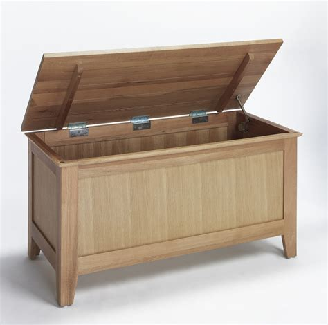 Bedroom Trunk Storage by Compton Solid Oak Furniture Bedroom Blanket Storage Box