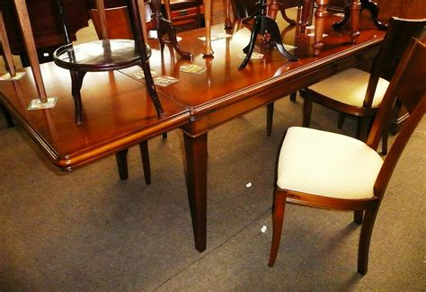 dining table mahogany dining table reproduction