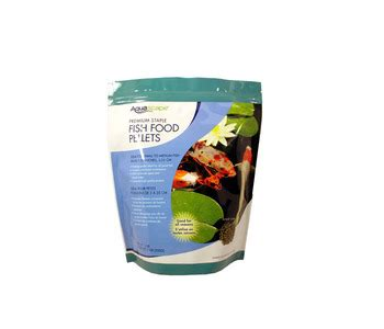 Aquascape Pond Products by Aquascape Staple Fish Food Pellets 500g Fish Care Food Part Number 98867 Pond Supplies