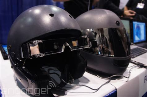 this augmented reality motorcycle helmet could save your
