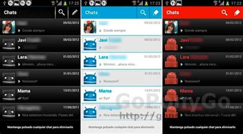 temas para whatsapp iphone cambia el aspecto de whatsapp para android con estos 3 temas
