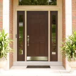 Exterior Entry Doors With Glass Exquisite Brown Mahogany 6 Panels Craftsman Single Modern