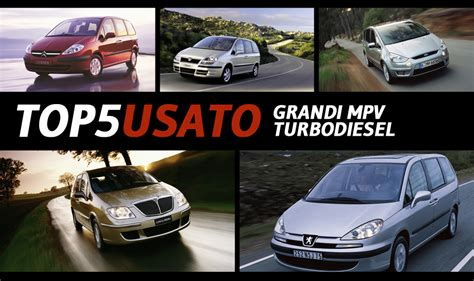 the best of grand designs architettura panorama auto top5 usato grandi monovolume turbodiesel usato