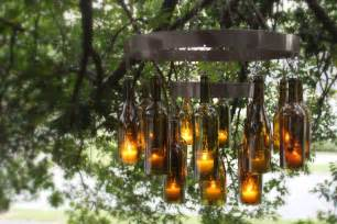 Chandelier Made From Wine Bottles Unique Chandeliers Made Out Of Recycled Wine Bottles