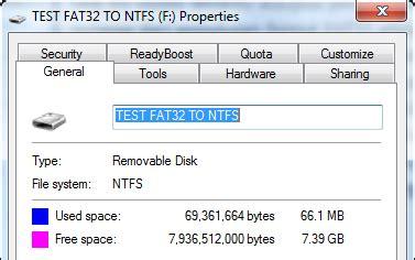 ubah format fat32 ke ntfs cara mengubah format hard drive atau flash drive dari