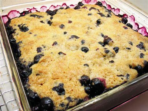 super easy blueberry cobbler recipes pinterest