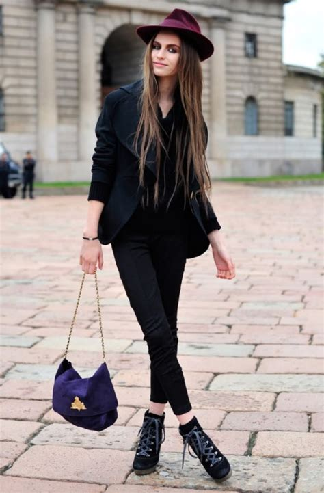 paris street style looks street style women s hats wardrobelooks com