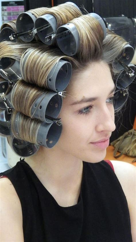 hot rollers with wet hair the 25 best big hair rollers ideas on pinterest big